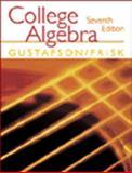 College Algebra, Gustafson, R. David and Frisk, Peter D., 0534378838