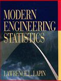 Modern Engineering Statistics, Lapin, Lawrence L., 0534508839