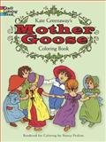 Mother Goose Coloring Book, Kate Greenaway, 0486228835