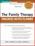 The Family Therapy Progress Notes Planner, Berghuis, David J. and Jongsma, Arthur E., Jr., 0470448849