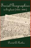 Social geographies in England (1200-1640), Postles, David A., 0979448859