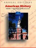 American History, Maddox, Robert James, 0072968850