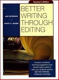 Better Writing Through Editing, Peterson, Jan, 0070498865