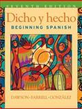 Dicho y Hecho : Beginning Spanish, Dawson, Laila M., 0471268860