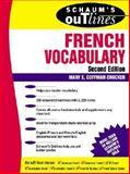 Schaum's Outline of French Vocabulary, Crocker, Mary E. Coffman, 0070138869