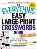 Easy Large-Print Crosswords Book, Charles Timmerman, 1440538867