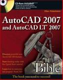 AutoCAD 2007 and AutoCAD LT 2007 Bible, Ellen Finkelstein, 0471788864