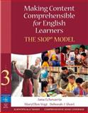 Making Content Comprehensible for English Learners : The SIOP Model, Echevarria, Jana J. and Short, Deborah J., 0205518869