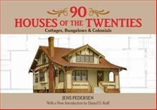 90 Houses of the Twenties, Jens Pedersen, 0486478866