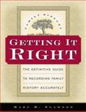 Getting It Right, Mary H. Slawson, 157008887X