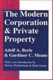 The Modern Corporation and Private Property, Berle, Adolf A. and Means, Gardiner C., 0887388876