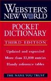 Webster's New World Pocket Dictionary, Goldman, Jonathan L., 0028618874