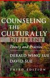 Counseling the Culturally Different : Theory and Practice, Sue, Derald Wing and Sue, David, 0471148873
