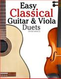 Easy Classical Guitar and Viola Duets, Javier Marcó, 146794887X