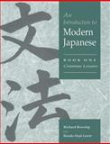 An Introduction to Modern Japanese Vol. 1 : Grammar Lessons, Bowring, Richard John and Laurie, Haruko Uryu, 052154887X