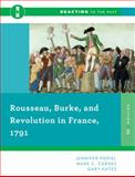 Rousseau, Burke, and Revolution in France 1791, Popiel, Jennifer and Carnes, Mark C., 0393938883
