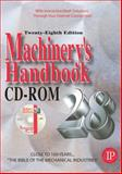 Machinery's Handbook, Oberg, Erik and Jones, Franklin, 0831128887