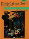 Favorite Christmas Classics for Solo Singers, Medium-High Voice, Patrick Liebergen, 0882848887