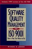 Software Quality Management and ISO 9001, Michael G. Jenner, 0471118885