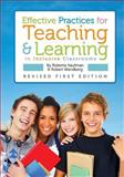 Effective Practices for Teaching and Learning in Inclusive Classrooms