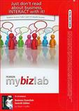 MyBizLab with Pearson eText for Business Essentials, Ebert, Ronald J. and Griffin, Ricky, 013801888X