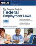 The Essential Guide to Federal Employment Laws, Lisa Guerin and Amy DelPo, 1413308899