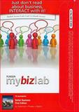 MyBizLab with Pearson eText Student Access Code Card for Better Business, Poatsy, Mary Anne and Martin, Kendall, 0138018898