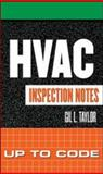 HVAC Inspection Notes : Up to Code, Taylor, Gil, 0071448896