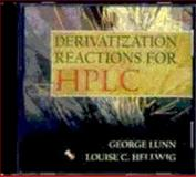 Handbook of Derivatization Reactions for HPLC, Lunn, George and Hellwig, Louise C., 0471238899