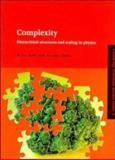 Complexity : Hierarchical Structures and Scaling in Physics, Badii, Remo and Politi, Antonio, 0521418909