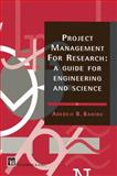 Guide for Graduate Research in Engineering and Science, A. B. Badiru, 0412588900