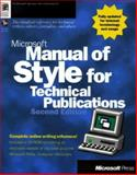 Microsoft Manual of Style for Technical Publications, Microsoft Official Academic Course Staff, 1572318902
