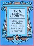 Seven String Quartets, Edvard Grieg and Jean Sibelius, 0486268918