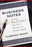 Business Notes, Florence Isaacs, 0517708914