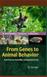 From Genes to Animal Behavior 9784431538912