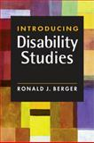 Introducing Disability Studies, Berger, Ronald J., 1588268918