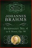 Symphony Number 4 in E Minor OP 68, Johannes Brahms, 0486298914