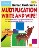 Multiplication Flashcards Write and Wipe, Kumon Publishing, 1934968919