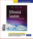 Differential Equations, Books a la Carte Edition, Polking, John and Boggess, Al, 0321698916