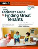 Every Landlord's Guide to Finding Great Tenants, Attorney, Janet Portman, 1413318924