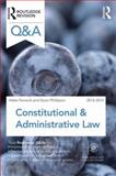Q&a Constitutional and Administrative Law 2013-2014, Fenwick, Helen and Phillipson, Gavin, 041562892X