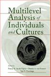 Multilevel Analysis of Individuals and Cultures, Fons J. R. Van De Vijver, Ype H. Poortinga, 080585892X