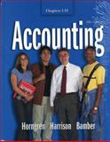 Accounting 1-18, Harrison, Bamber, 0131918923