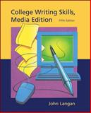 College Writing Skills, Media Edition, Langan, John, 0072818921