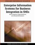Enterprise Information Systems for Business Integration in SMEs : Technological, Organizational, and Social Dimensions, Maria Manuela Cruz-Cunha, 1605668923