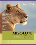 Absolute C++, Walter Savitch, 0321468937