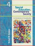 Special Education in Contemporary Society : An Introduction to Exceptionality, Gargiulo, Richard M., 1412988934