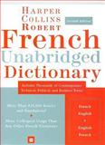 Robert French Dictionary, HarperCollins Publishers Ltd. Staff, 0060748931