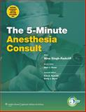 5-Minute Anesthesia Consult, Singh-Radcliff, Nina, 1451118945
