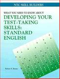 How to Improve Your Test-Taking Skills : Standard English, Boone, Robert S. and McGraw-Hill Staff, 0844258946
